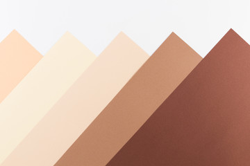 Colorful soft brown, beige and white paper background.