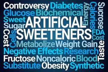 Artificial Sweeteners Word Cloud