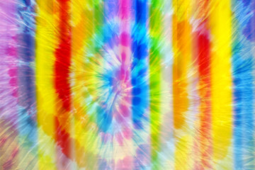 Abstract Color Rainbow batik Blur Background