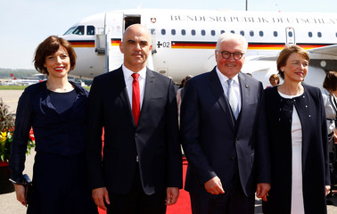 German President Frank-Walter Steinmeier visits Switzerland