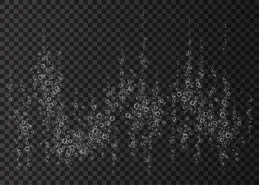 Effervescent drink vector texture.