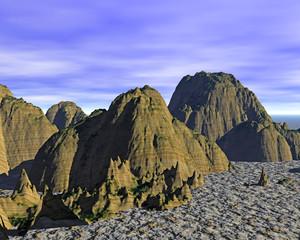 virtuelle Landschaften aus dem Computer