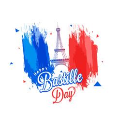 Happy Bastille Day celebration background.