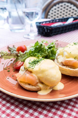 delicious Breakfast Benny Dick Egg