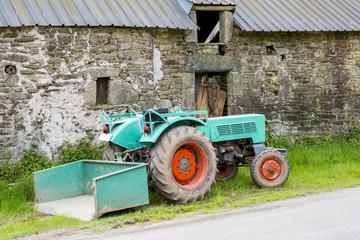 Tracteur d'antan