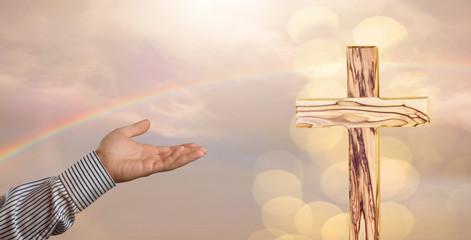 Holzkreuz Christentum