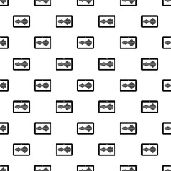 Tablet pattern vector seamless repeating for any web design