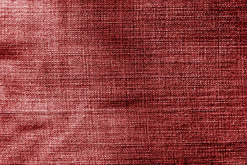 Jeans cloth pattern in red color.