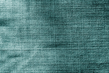 Jeans cloth pattern in cyan color.