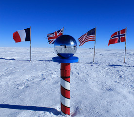 Keuken foto achterwand Antarctica The South Pole, Antarctica