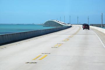 Bridge on atlantic intracoastal highway US 1, Florida Keys interstate, Key West, Sunshine State Florida, USA