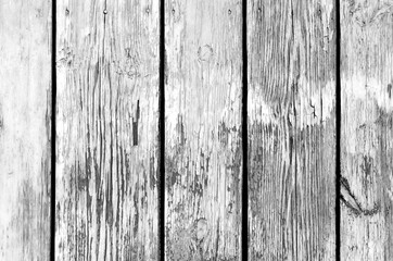 Wooden fence pattern in black and white.