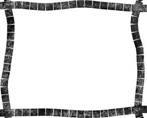 Black Marble Tile Frame