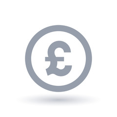 Great British pound symbol - Britian currency symbol