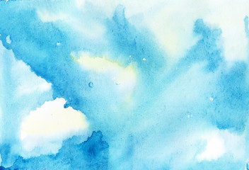 Watercolor gradient background.Designed abstract watercolor background.