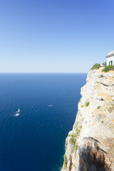 Cap de Formentor, Mallorca - Nice view onto the sea from the lighthouse of Formentor