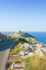 Cap de Formentor, Mallorca - Hiking trail towards the lighthouse of Formentor