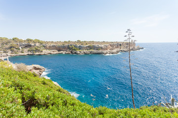 Cala Figuera de Santanyi, Mallorca - Feeling freedom at the coastline of Santanyi