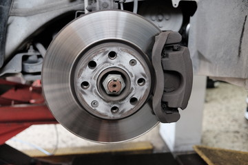 replacement of disc brakes