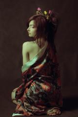 Naked geisha