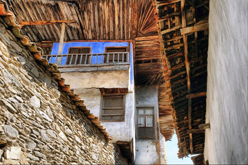 Traditional Turkish Homes in Birgi, Izmir, Turkey