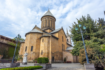 The Sioni Cathedral of the Dormition is a Georgian Orthodox cathedral in Tbilisi, Georgia