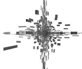 抽象的な建築のイメージ