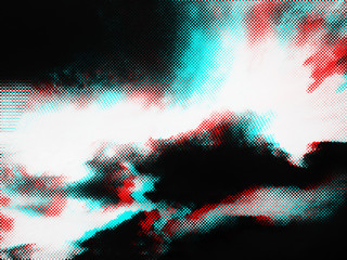 Abstract glitch photocopy texture background.