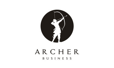 Elegant Archer Logo design inspiration