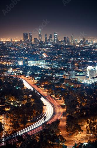 Wall mural Los Angeles, Californie