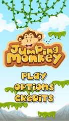 Jumping Monkey Starting Main Template