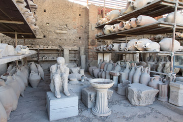Pompei, Vesuv, Vulkan, Ruinen, Neapel, Italien, Stadt, Antik, Europa