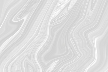 Gray background. Waves with a marble pattern.