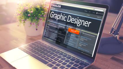 We Hiring Graphic Designer. 3D.
