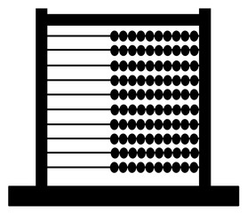 Abacus, Calculator Design Concept vector eps 10