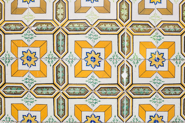 Typical Portuguese tile