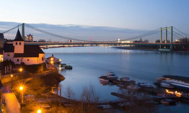 Abendstimmung in Rodenkirchen am Rhein