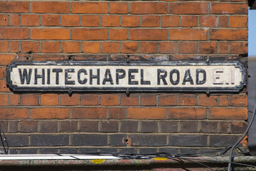 Whitechapel Road in East London