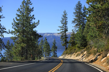 Lake Tahoe Emerald Bay Road