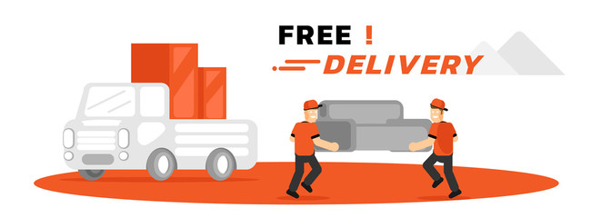 furniture free home delivery service