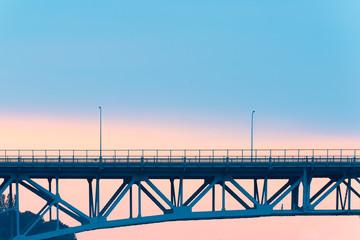 Aurora Bridge over Lake Union, Seattle, Washington State, USA
