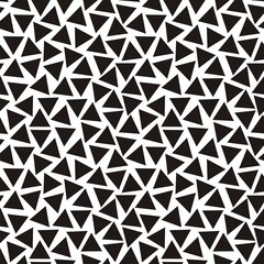 Abstract black-and-white pattern