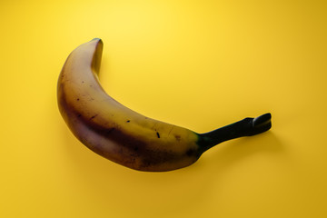 old brown banana