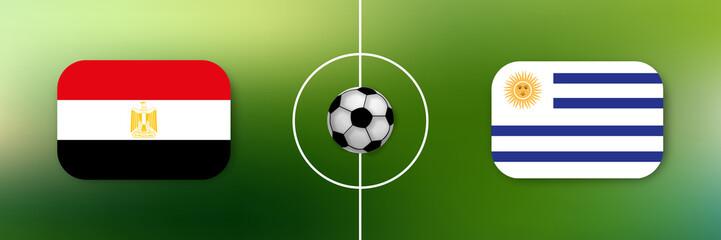 Fußball - Ägypten gegen Uruguay