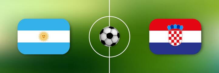 Fußball - Argentinien gegen Kroatien
