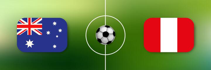 Fußball - Australien gegen Peru