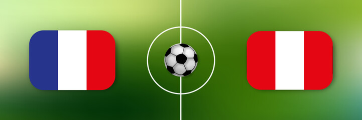 Fußball - Frankreich gegen Peru