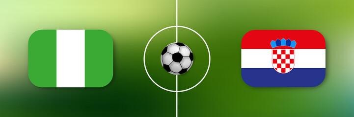 Fußball - Nigeria gegen Kroatien