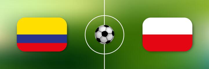 Fußball - Kolumbien gegen Polen