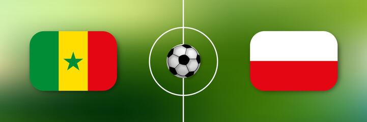 Fußball - Senegal gegen Polen